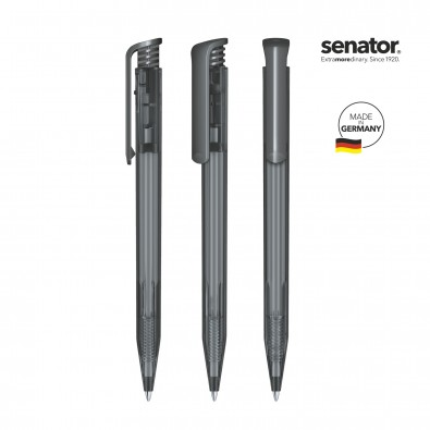 SENATOR Super Hit Clear Druckkugelschreiber, grau 445