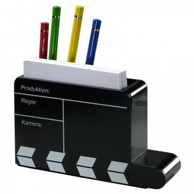 Stiftesammler Filmklappe, schwarz