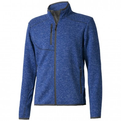 Tremblant Strickfleecejacke für Herren, heather blau, XL