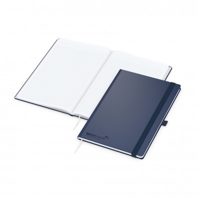 Vision-Book A4 Bestseller, blau, Goldprägung