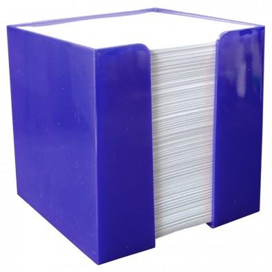 Zettelbox Würfel, standard-blau PP