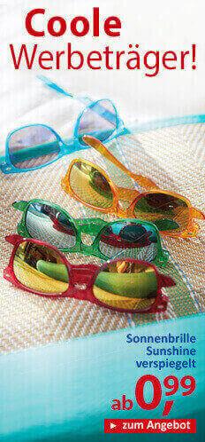 Sonnebrille-Sunshine